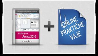 Access 2010 + praktične vaje