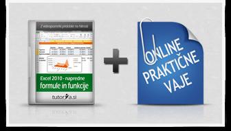 Excel 2010-napredne formule in funkcije + praktične vaje