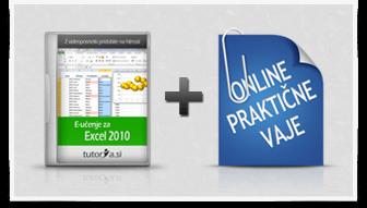 Excel 2010 + praktične vaje