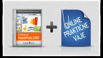 PowerPoint 2007 + praktične vaje