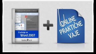 Word 2007 + praktične vaje