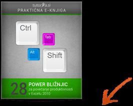 E-učenje z videoposnetki - 28 power bližnjic za povečanje produktivnosti v Excel 2010