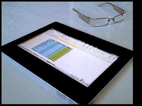 E-izobraževanje na iPadu