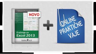 Excel 2013 + praktične vaje